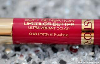Astor Soft Sensation Lipcolor Butter - Pretty Fuchsia - www.annitschkasblog.de