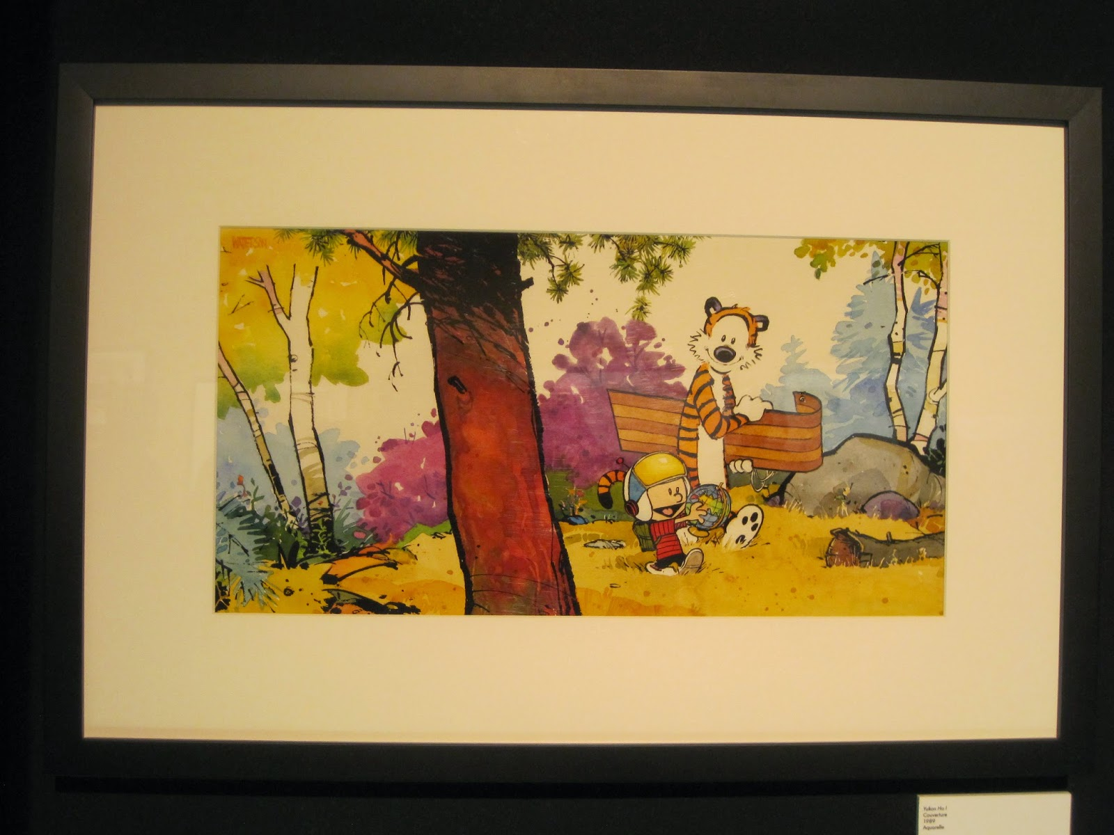 Behind the Scenes at Stuart Ng Books: Angouleme 2015 -- Calvin and ...