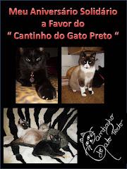 Meu Aniversário Solidário a Favor do Cantinho do Gato Preto