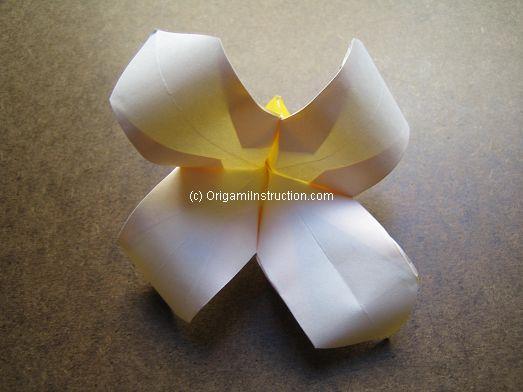 Origami instruction origami four petals flower origami four petals flower mightylinksfo