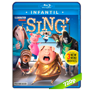 Sing: ¡Ven y canta! (2016) BRRip 720p Audio Dual Latino-Ingles