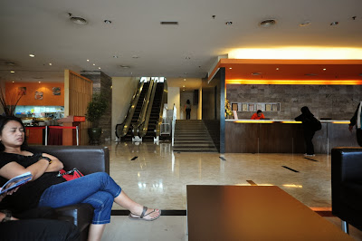 Cititel Express reception area