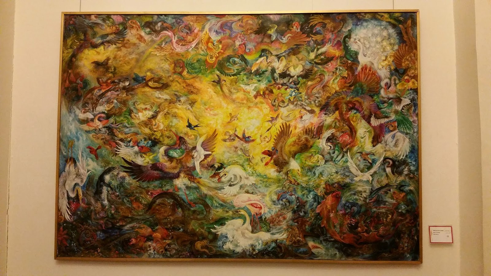 creating outcrayons jackiepneal the art of mahmoud farshchian my lovely daughter in law neda is just back home from a to her family in tehran while she was there she ed a local art museum her mom and