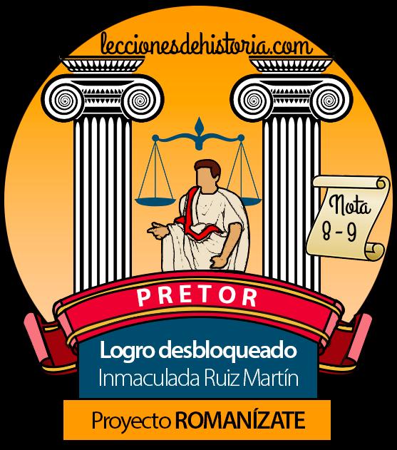 Insignia del proyecto Romanízate