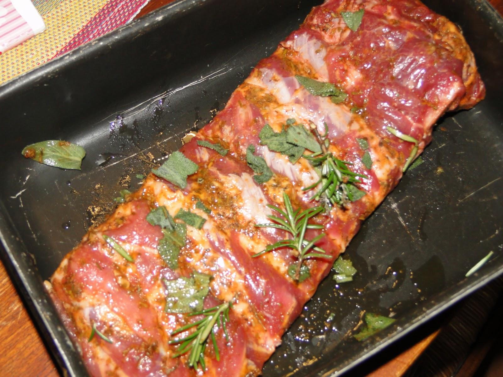 le leccornie di danita: costine di maiale allo sciroppo d'acero e ... - Come Cucinare Le Puntine Di Maiale