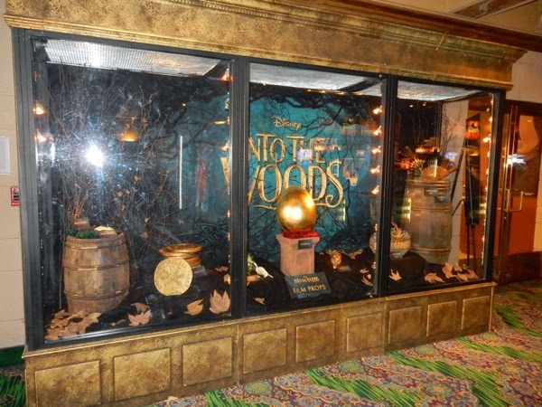 Into the Woods movie prop exhibit