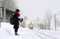 Σταθμός τρένου λειτουργεί για έναν επιβάτη!
