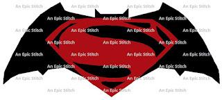 Batman VS. Superman Logo Pattern