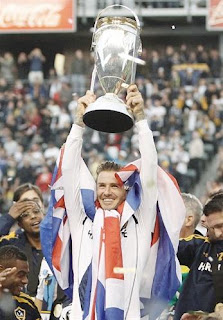 Beckham Sweet Ending With LA Galaxy
