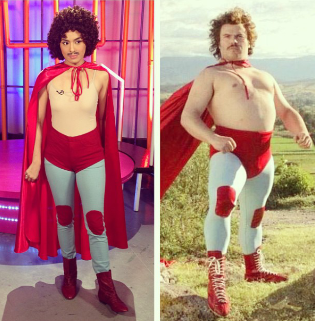 Fashion Pulis Who Wore It Better Nikki Gil Vs Nacho Libre