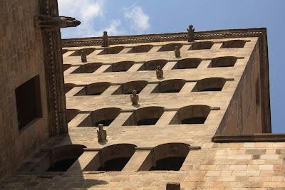 Watchtower of El Palau Reial in La Plaça del Rei