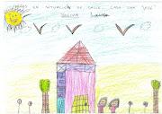 el niño renueva sus vivencias suavizando su efecto . dibujo gloria familia