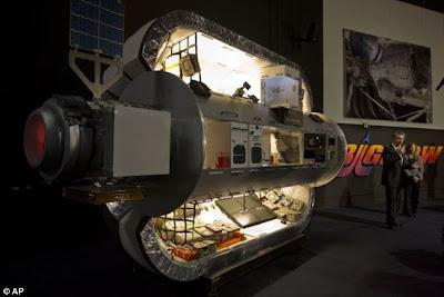 bilik tidur angkasawan