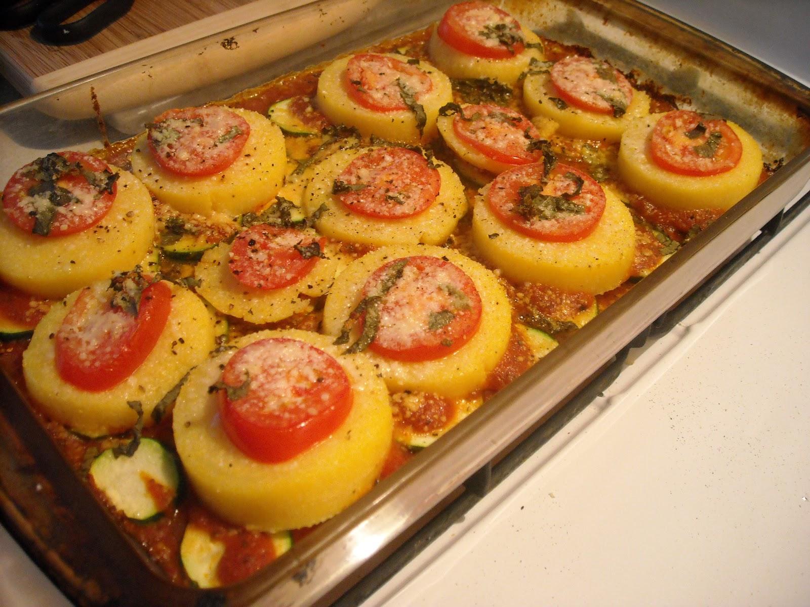 Baked polenta recipe - Baked polenta cheese recipes ...