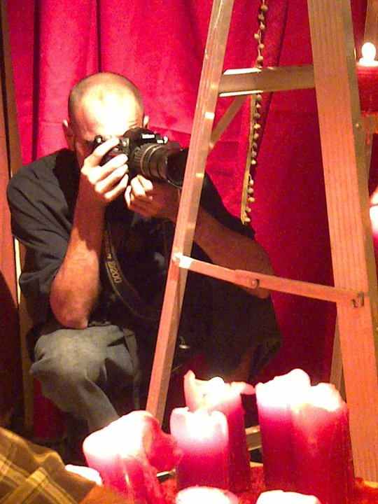 Prod. Campo, making, foto fija...