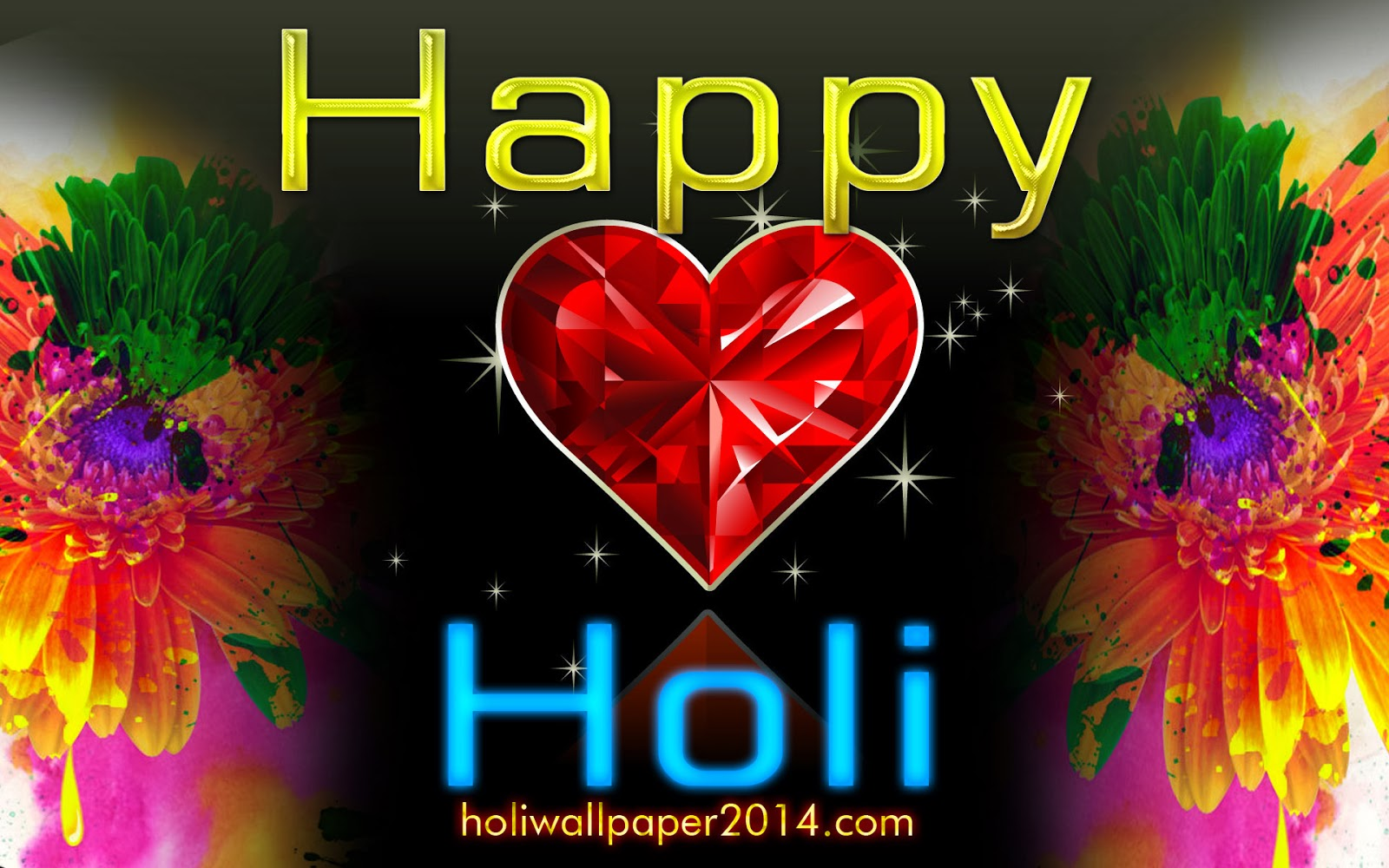 Holi wallpaper 2014 HD for whatsapp and Facebook