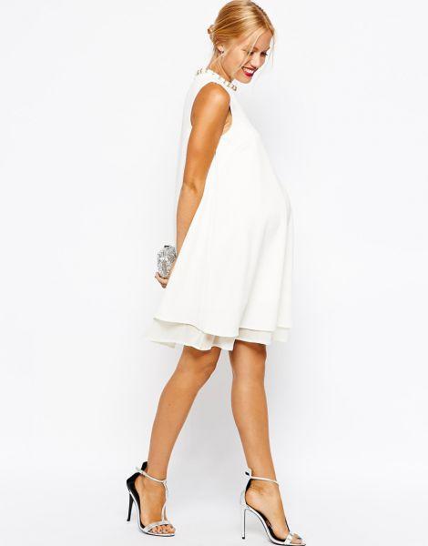 Divinos vestidos de novias | Moda y Tendencia para embarazadas