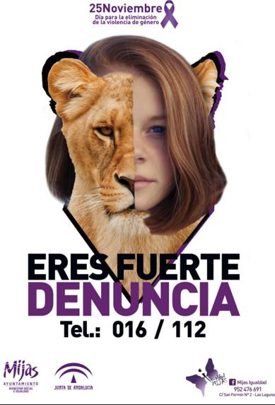ERES FUERTE DENUNCIA 016 / 112
