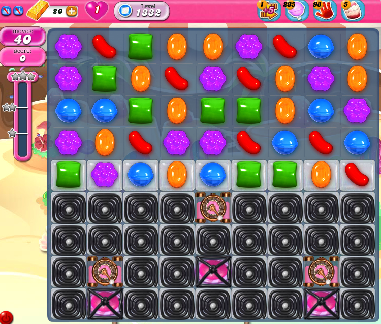 Candy Crush Saga 1332