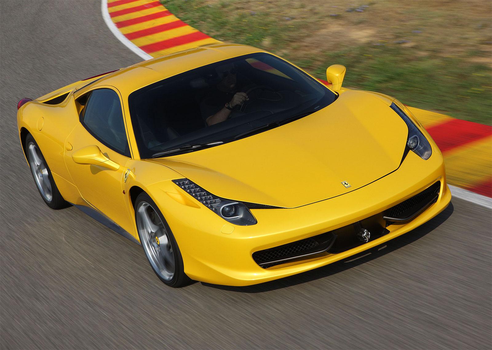 Sport Cars Ferrari 458 Italia Hd Wallpapers 2011
