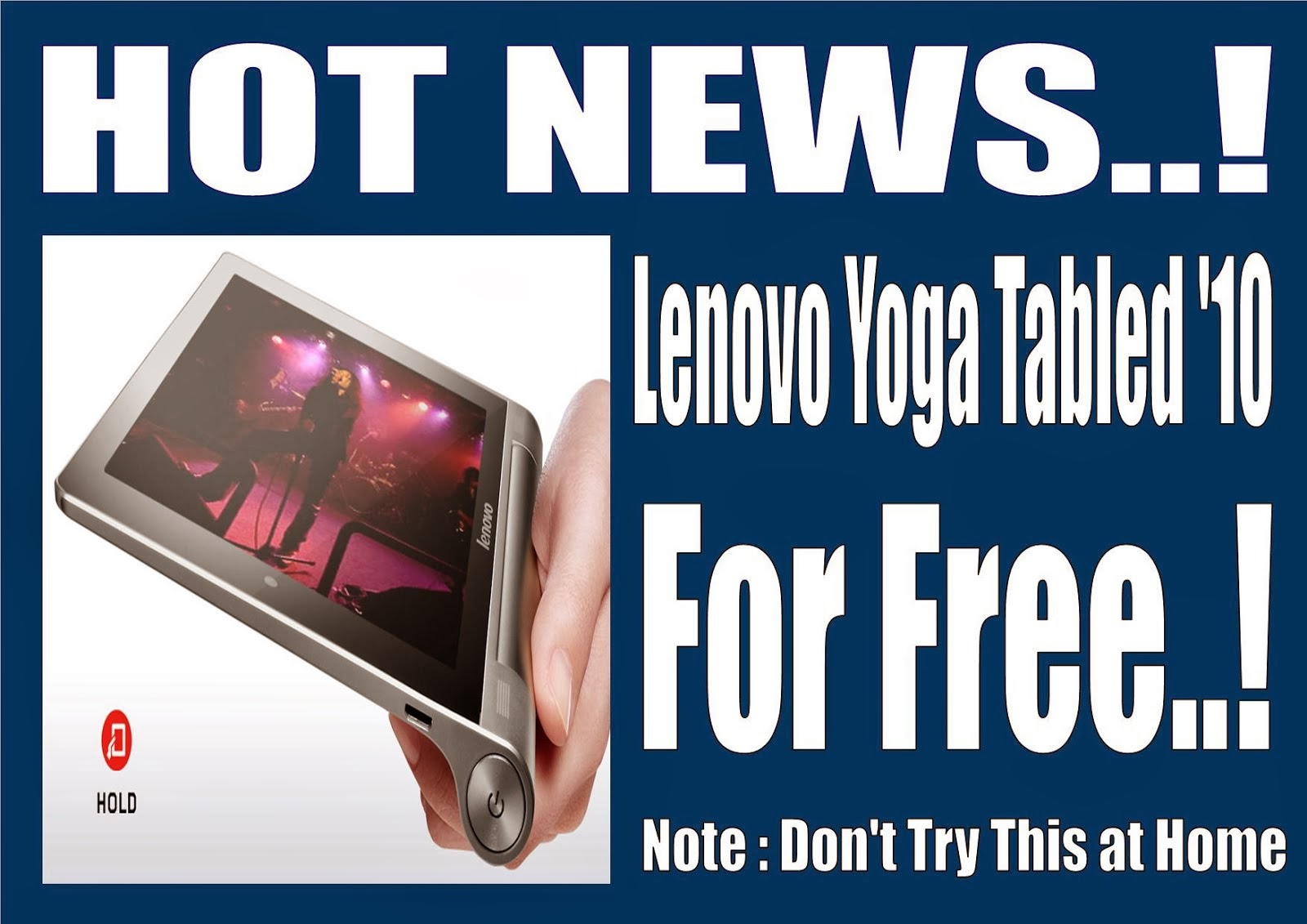 WAW.. Lenovo YOGA '10 for free ! !