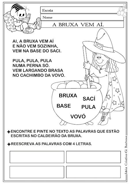Atividade com Marcinha Carnavalesca
