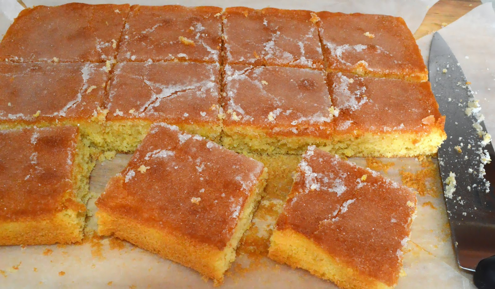 The Perfect Lemon Drizzle Cake