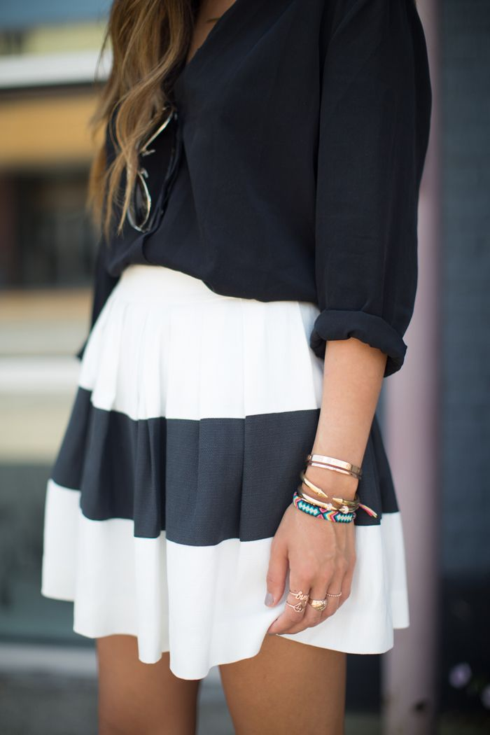 Black & White cute classically chic