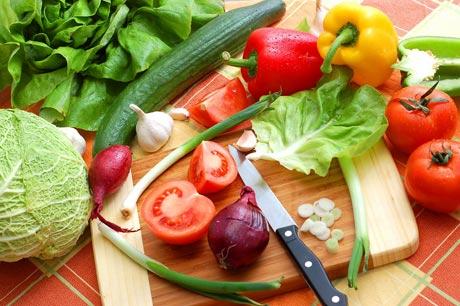 الخضراوات المحتوية على فيتامين ب