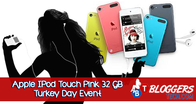 Apple IPod Touch Pink 32 GB Turkey Day Event