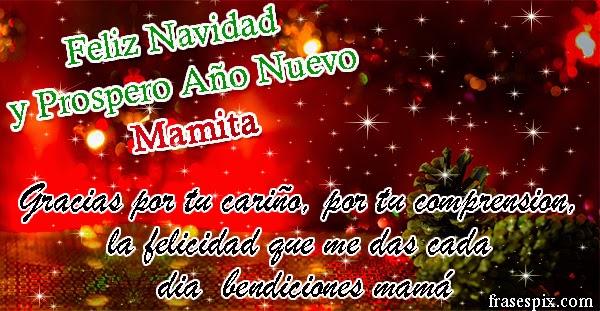 Mamá feliz navidad