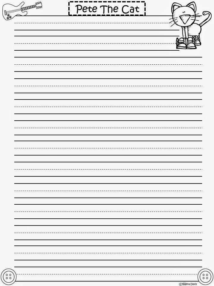 cat writing paper This set will print out 2 pages of writing paper vintage inspired stationery decorated with a picture of a mother cat printable cat with kittens stationery.