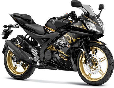 Warna Hitam Yamaha YZF-R15 2014