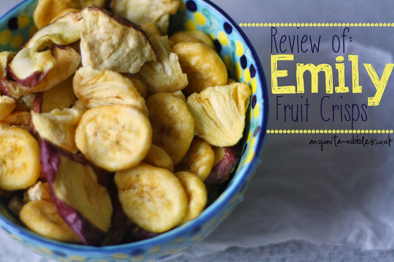 Emily Fruit Crisps Review from Anyonita-nibbles.co.uk