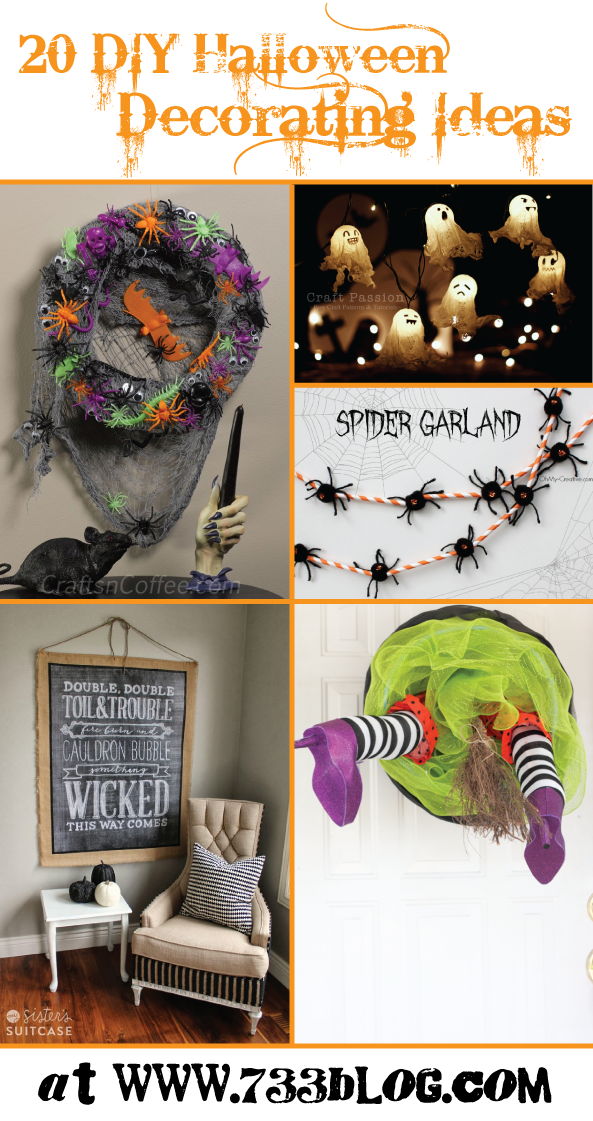 Diy halloween decorations inspiration made simple - Halloween decorations diy ...