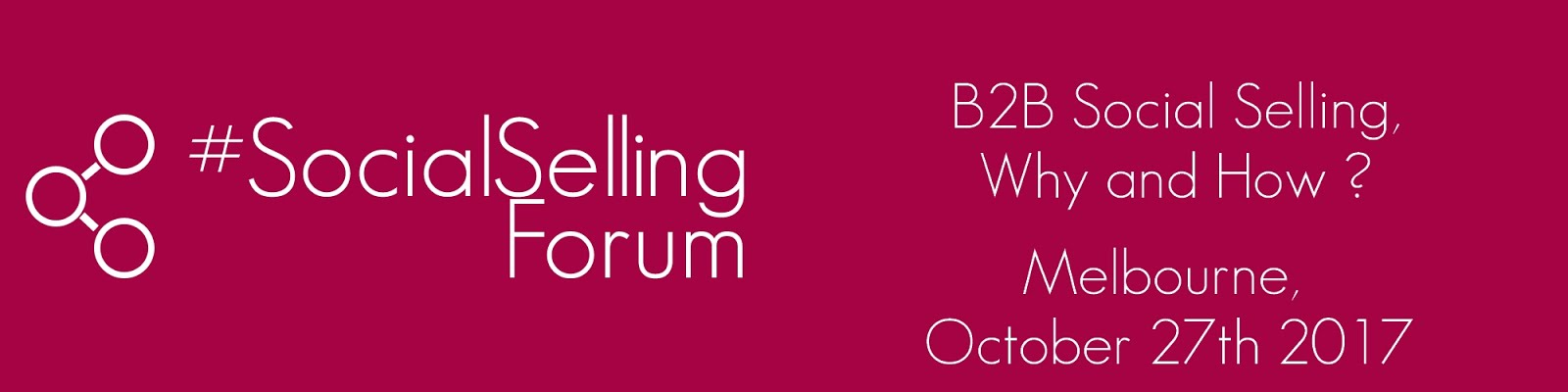 #SocialSellingForum