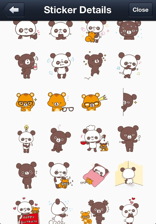 Chocopa LINE Stickers