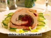 Morčacia roláda so zeleninovou plnkou - recept