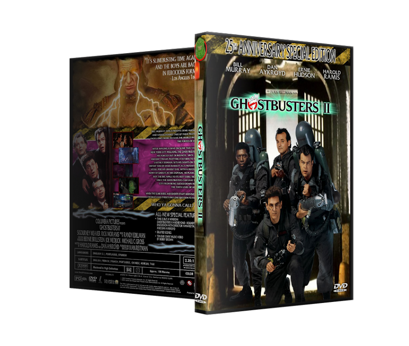 Capa DVD Ghostbusters 25th Anniversary Special Edition
