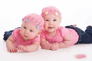 Cute Twin Baby Boys, Baby Girls Image Collections