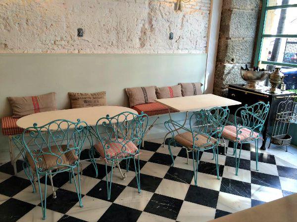 Cafeterias muy vintage en madrid vintage home style - Decoracion vintage madrid ...