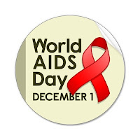 terrence higgins trust world aids day red ribbon logo Dec 1
