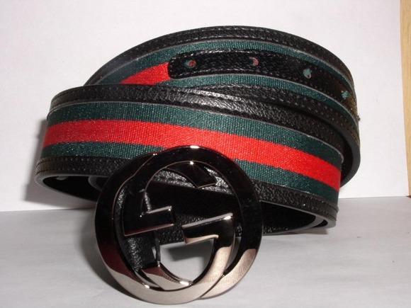 Gucci Black Belts  For Men