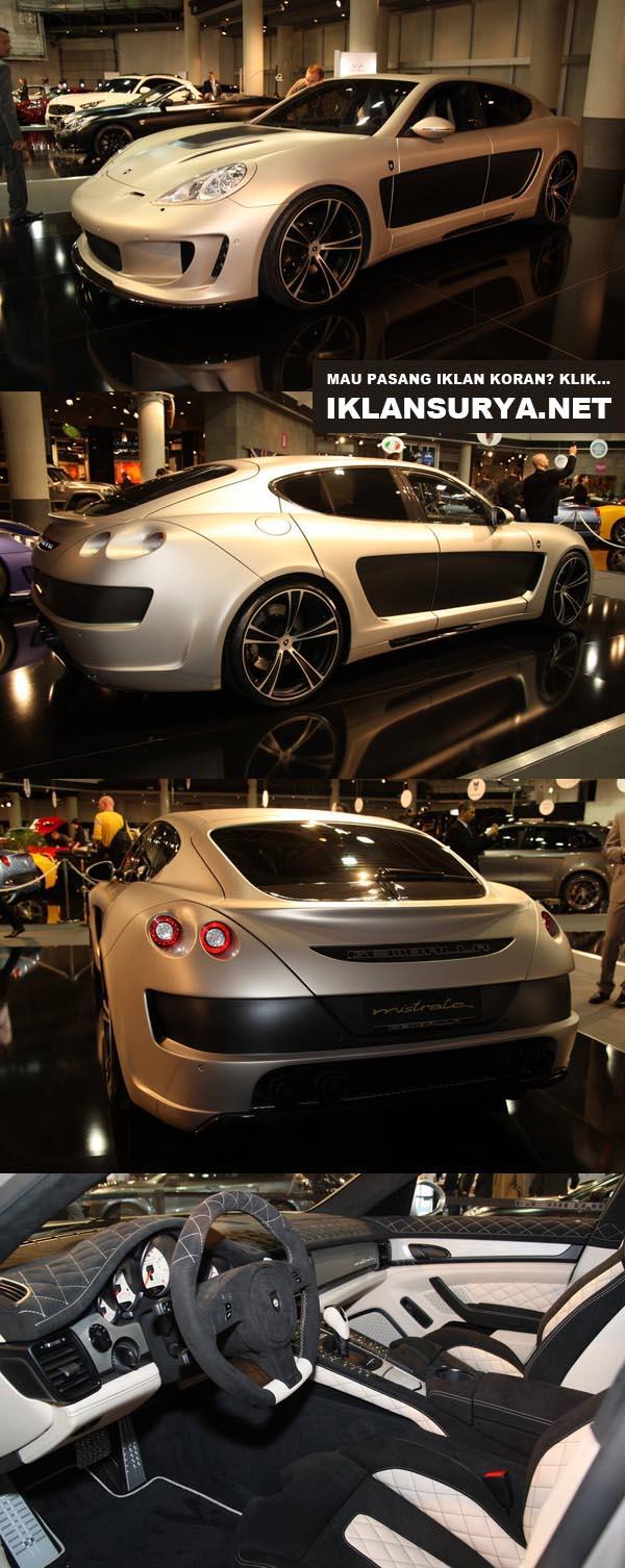 Porsche Panamera 970 2012