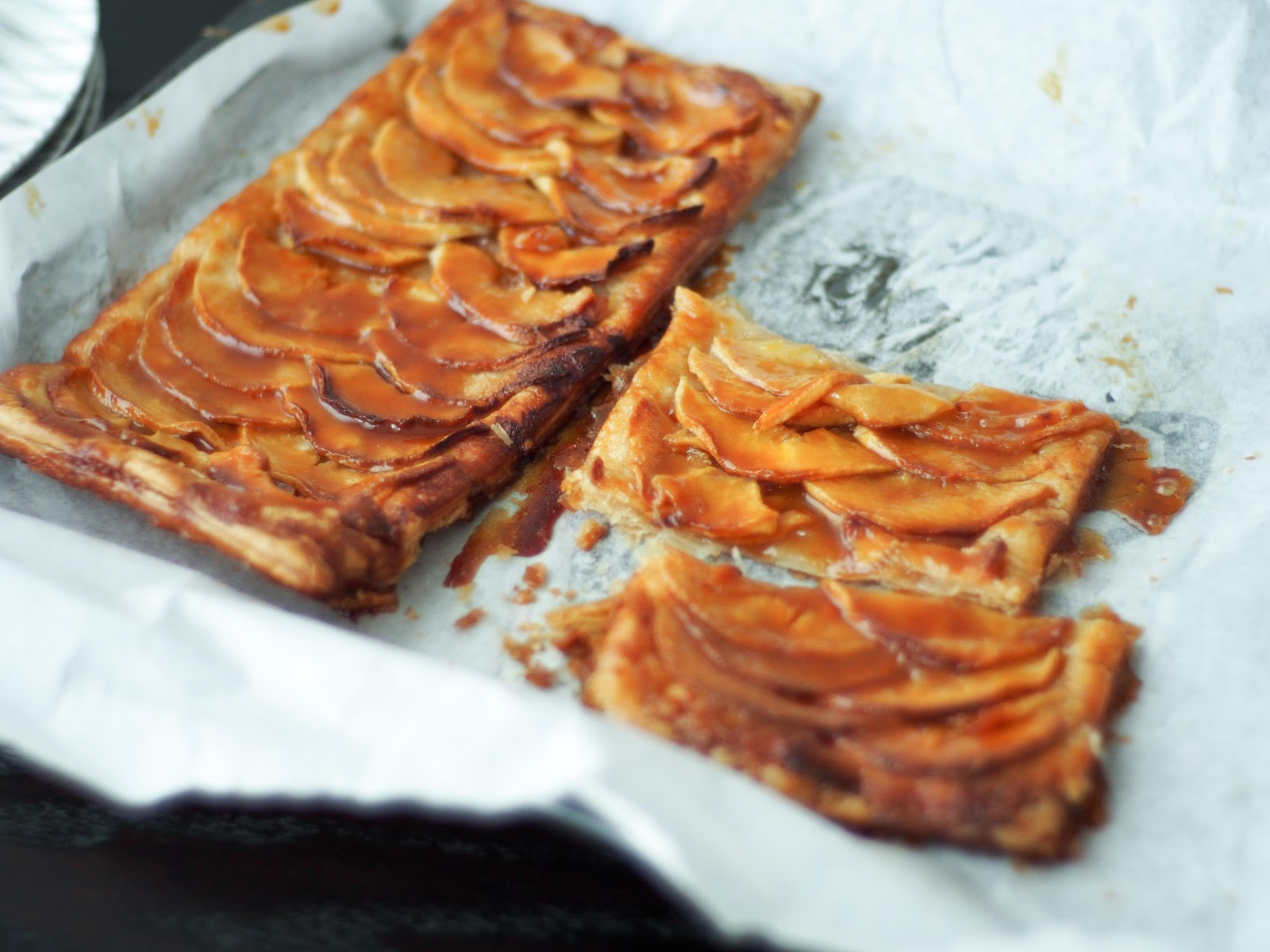 Today, she called me asking for the apple tart recipe because she's ...