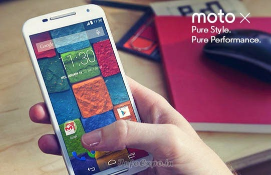 Moto X (2nd Gen): 5.2-inch Full HD, 2.5 GHz Quad Core, Android KitKat Phone Specs and Price India