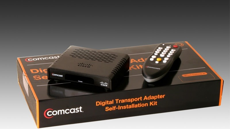 Cable Converter Box - Activate Cable Box Comcast