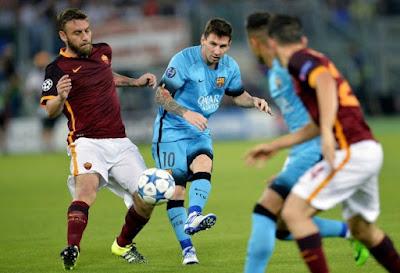 AC Roma - FC Barcelona champions league