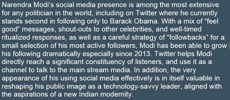 modi rise on social media Modi's speech in azamgarh shows he's keen to repeat  with the rise of oil  the speeches and social media will not be sufficient enough to be successful.