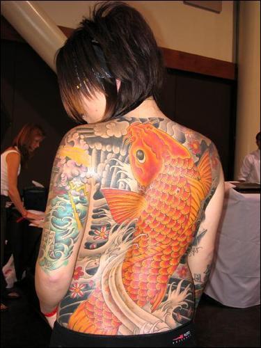 japanese art tattoos. In Japan, koi are